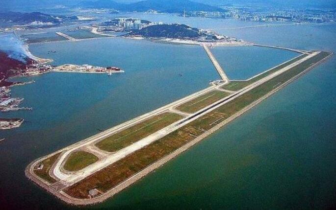中国唯一建在海上的机场 耗资6500万