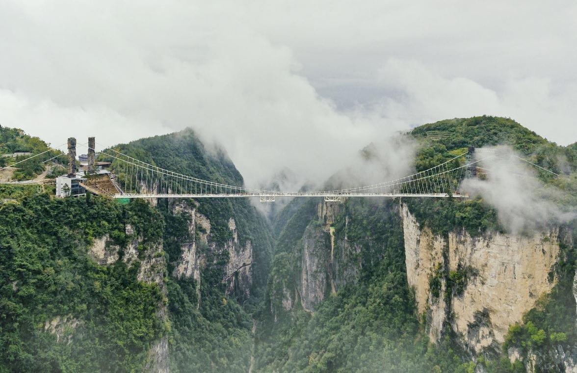 湖南23家地质公园美景集体登上明信片