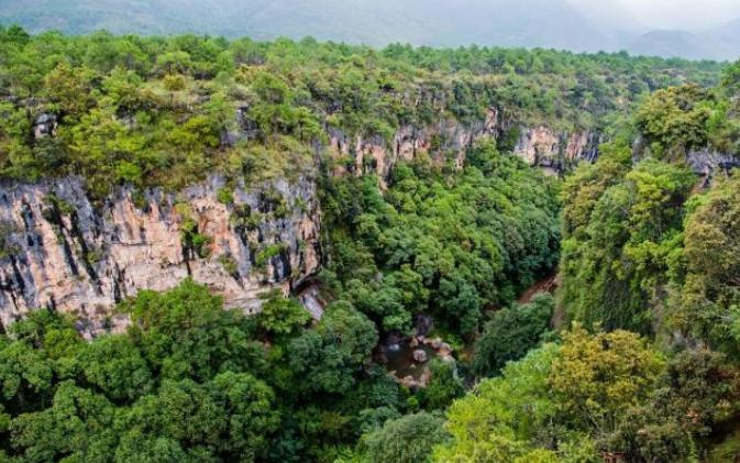 """丽江最美的大峡谷,悬崖玻璃桥让人""""吓破胆"""""""