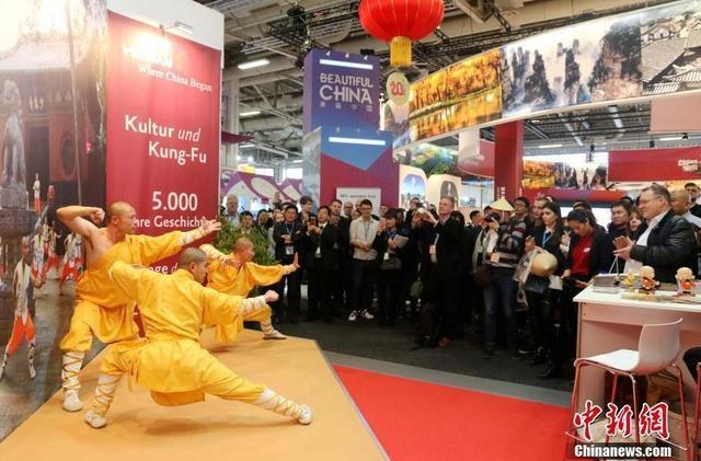 柏林国际旅游交易会开幕 中国展台抢眼