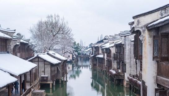 南方一下雪,江南水乡就变成了东北雪乡,看看乌镇有多美