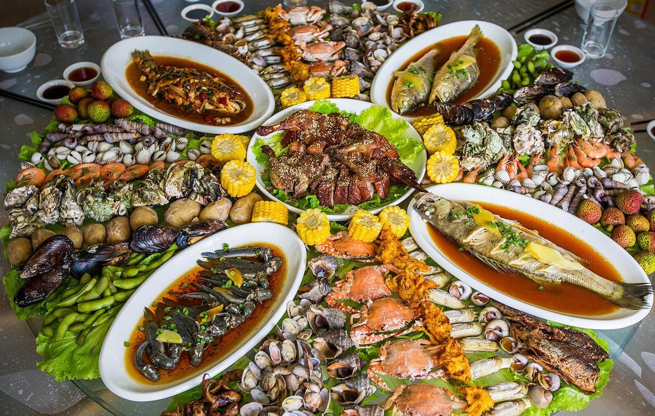 海鲜大餐要这样吃才过瘾,看浙江人怎么吃