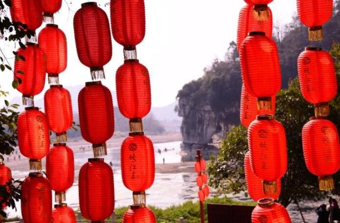 桂林冬日春光,原来南方的冬天这么暖