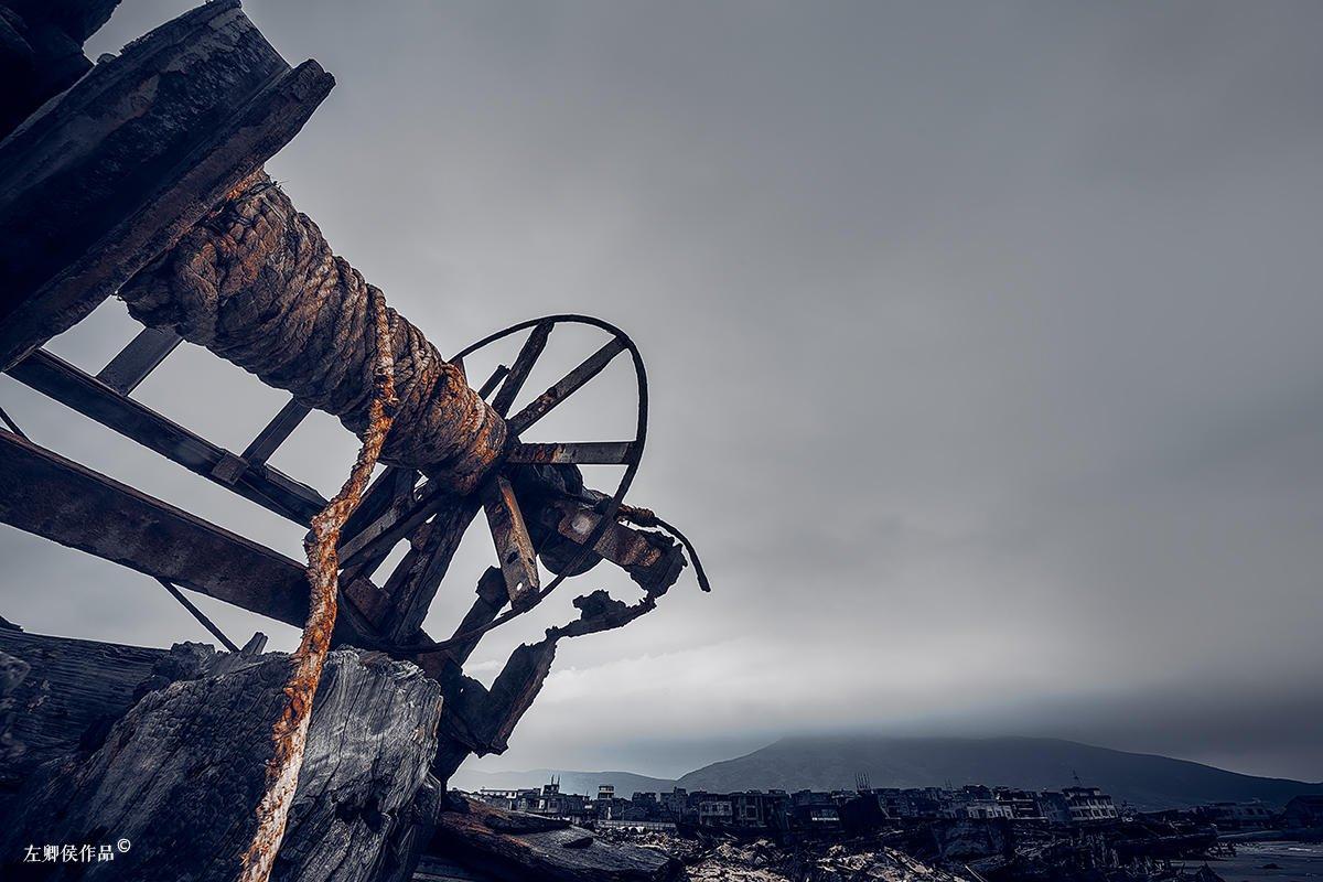 """快要消失的老渔船""""墓地"""":最后不是安息 而是拆了当柴烧"""