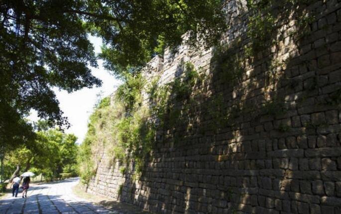 万里海疆上至今仍保存最完好的一座古城堡