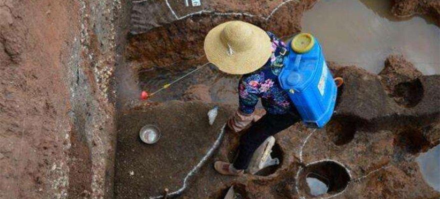 云南省晋宁发现2000多年前古滇国村落遗址