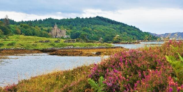 浪漫心形湖,一秒钟爱上苏格兰高地