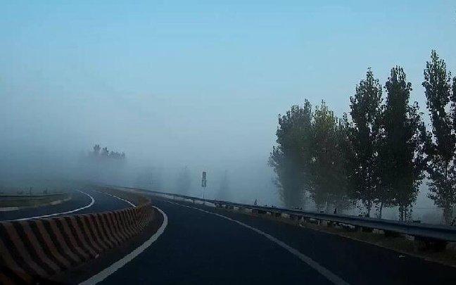 公安部:春运期间5省高速路易受团雾影响