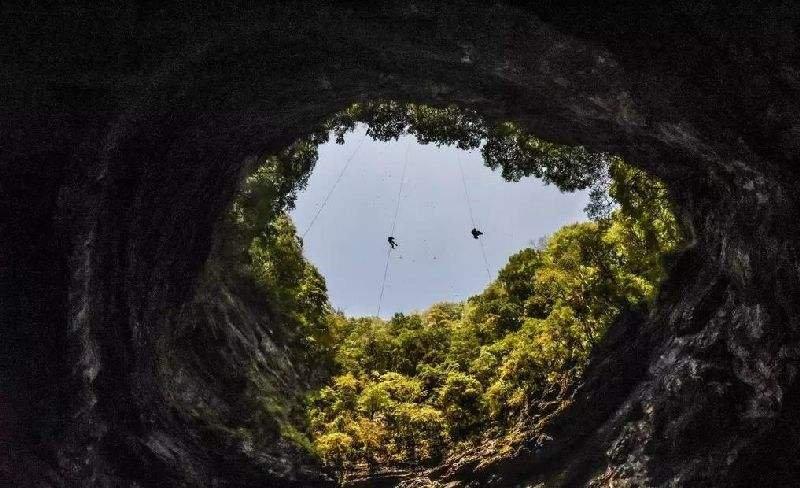 陕西汉中发现500平方公里天坑群 考验保护与开发
