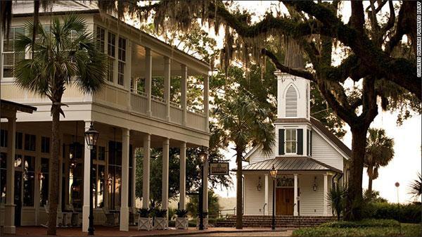 看CNN记者精选的美国20家最美酒店