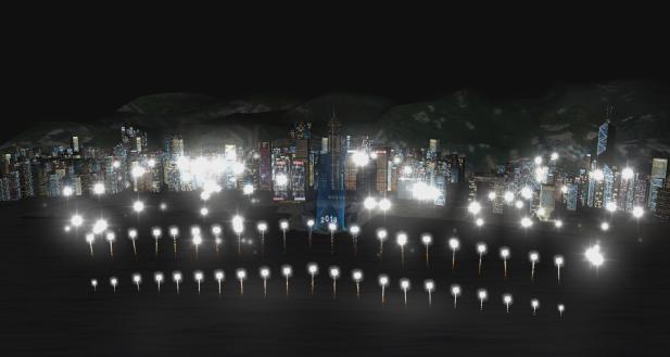 香港呈献盛大烟火音乐汇演迎2018 璀璨烟花与环球表演轮番登场