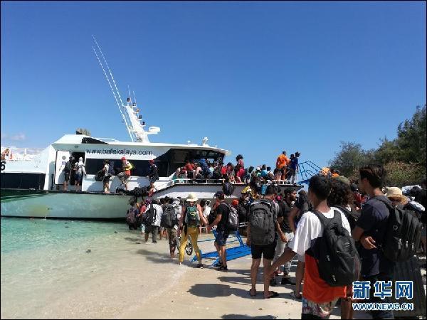 印尼地震98人遇难 39名中国游客撤至安全地区