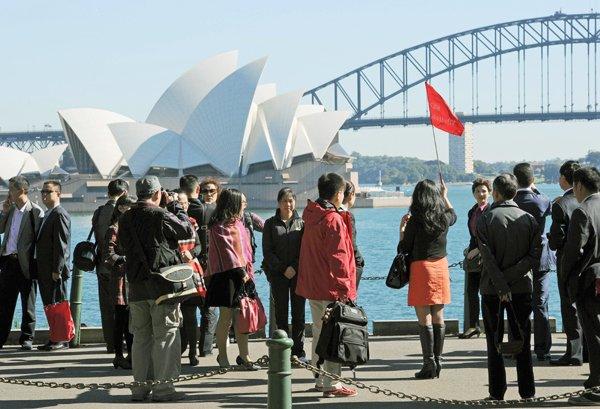 中国游客增势猛 有望成澳洲第一大旅游市场