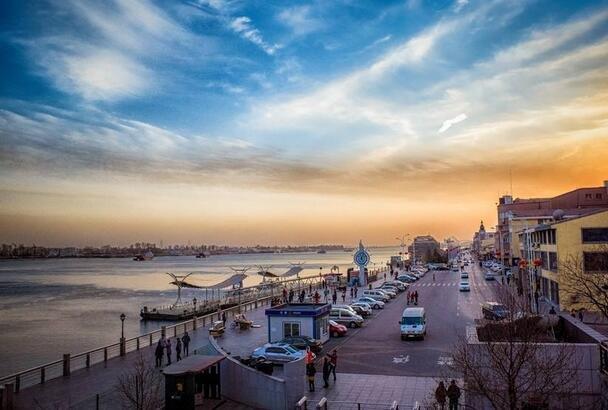 中国这座城市 让对岸的朝鲜人最喜欢全家乘船 远远的羡慕和好奇