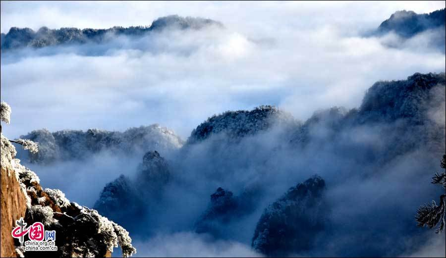 美丽黄山:一样的冬雪 不一样的美