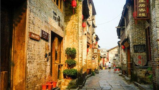 比周庄古朴 比丽江幽静 湘桂粤三省交界处的千年古镇美爆