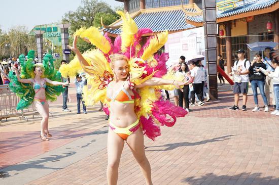 尖叫怪咖狂欢 南昌万达乐园国际怪咖节盛大启动