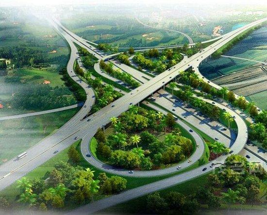 黄羌互通 汕(头)湛(江)高速公路云浮至湛江段及支线工程tj15合同段图片