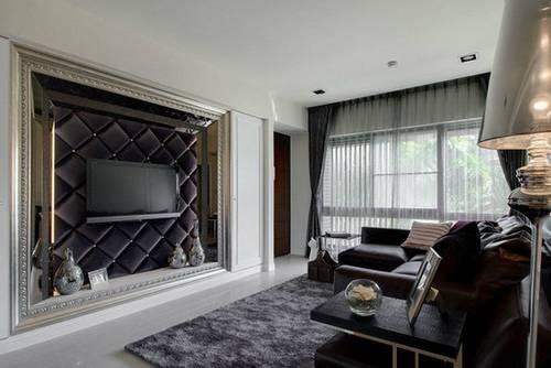 客厅电视背景墙效果图设计高清图片