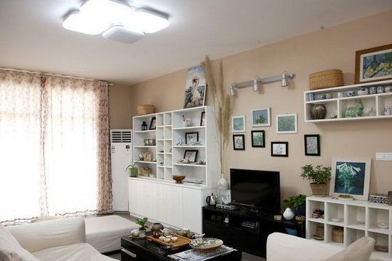 最新客厅电视背景墙效果图设计图片