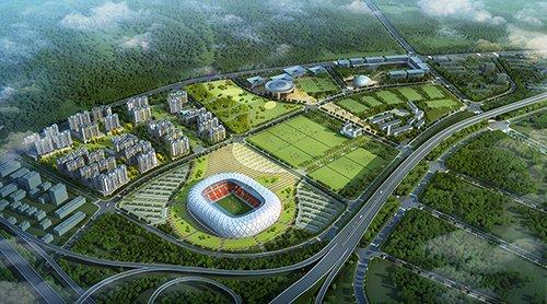 铁汉生态梅州区域总部项目及足球产业基地梅县