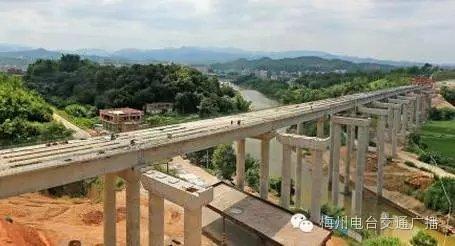 兴华高速进入全面施工阶段 预计2017年底建成通车图片