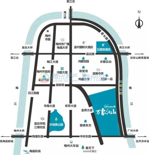 梅州楼盘全方位360°评测报告第四期:正兴·万象江山