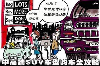 SUV车型购车全攻略(下篇)--中、高端车型