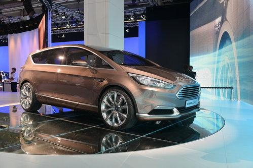 福特全新s-max概念车高清图片