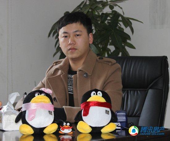 腾讯房产专访润祥日出康城经理朱乐
