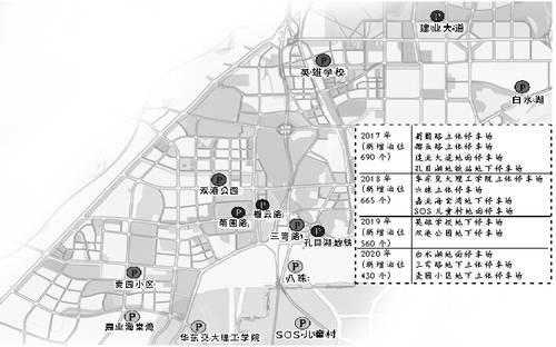 南昌规划建设51处公共停车场