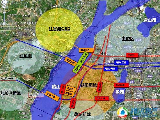 朝阳公园手绘地图