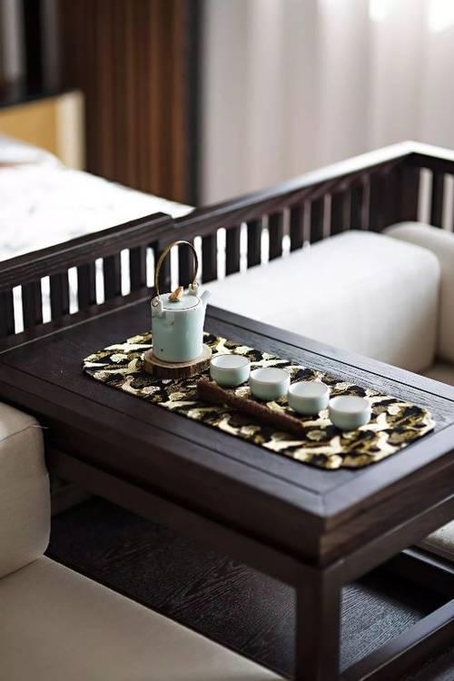 新中式别墅精装:当代中国人该有的生活艺术