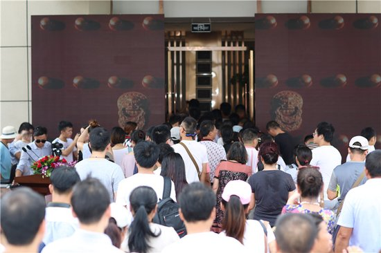 登堂入锦,门启繁华!锦门·香溪南岸营销中心开放盛况空前