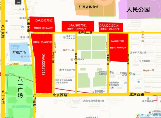 苏宁24.35亿拿下原省府大院五宗地块 最高楼面价为8022元/㎡