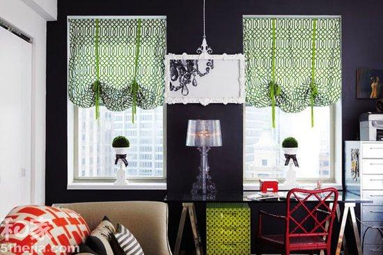 白领公寓8套窗帘选取 清新优雅第一位