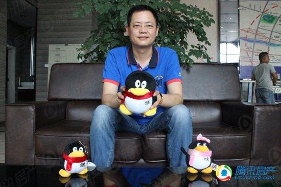 腾讯房产专访秀江风情董事长洪恩江
