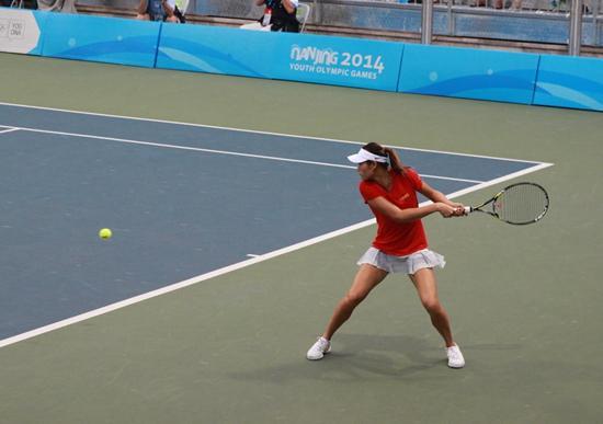 青奥网球冠军青少年世界排名第4 创中国选手新高
