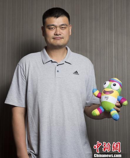国际奥委会宣布姚明担任南京青奥会大使