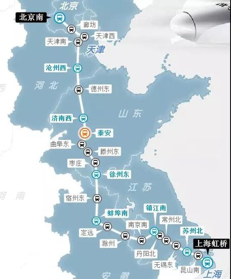 """南通将有5条""""高铁""""将开建!江苏省内26个县市都将迎来高铁时代!"""