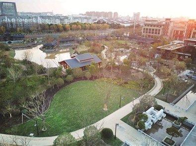 曹顶纪念公园主体建成 总面积约10公顷