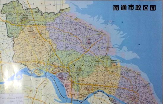 最新曝光:新版南通市区图,政区图齐齐亮相