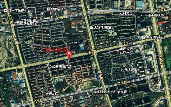 项目东南方向是南通行政中心,南通大学,滨江公园,园博园,狼山风景区