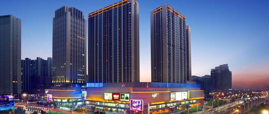 如皋新城吾悦广场,布局于如皋市政府正南侧,是新城控股继南通城区