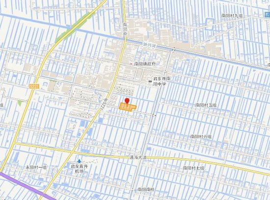 南通国土资源局挂牌公告信息显示,1717地块位于启东市南阳镇南阳村