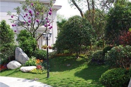 如东碧桂园:抢收幸福 别墅级的高层园林景观图片