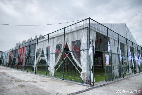 废弃空地变身五人制足球场 启东有了首个室内