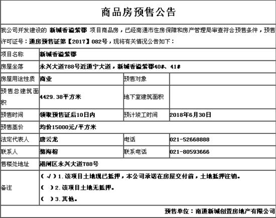 新城香溢紫郡10月25日开盘 预售楼栋为40#、41#