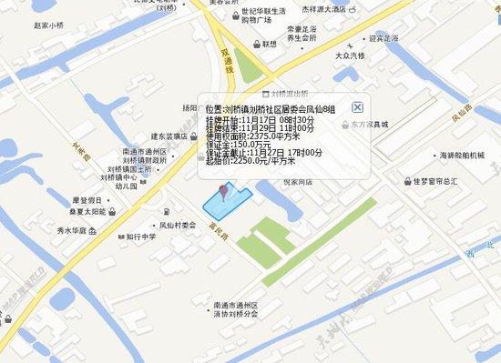 据南通国土资源局挂牌公告信息显示,c2017-027地块位于南通市通州区