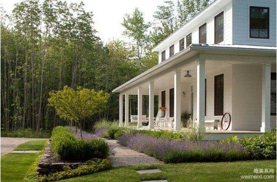 美式风格乡村v风格别墅设计师自己的家_住宅-功能频道豪宅图片